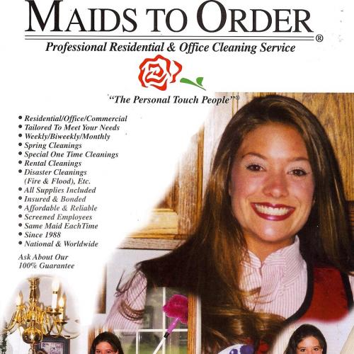 MAIDS TO ORDER